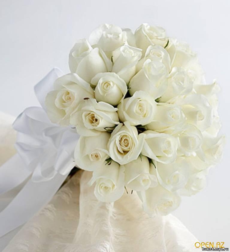 свадебные букеты цветов